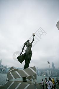 香港星光大道雕像图片