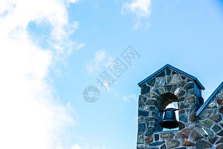 牧羊人教堂一角图片