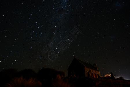 新西兰观星图片