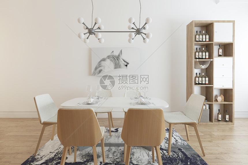 现代餐厅场景空间设计图片
