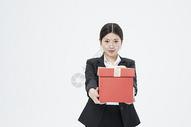 送礼物的职业女性500879695图片