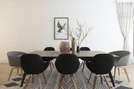 现代餐厅空间场景设计图片