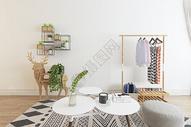 现代家居休闲一角空间设计图片