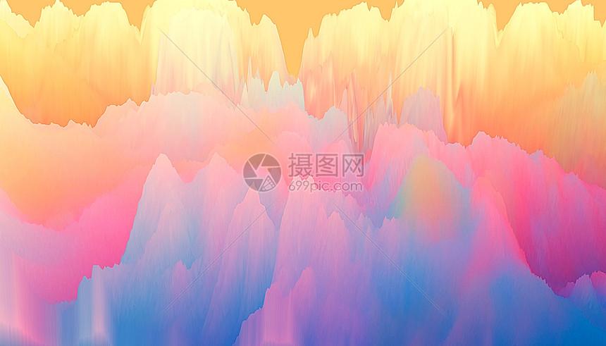 彩云抽象背景图片
