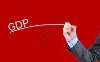 商务人手写GDP图片