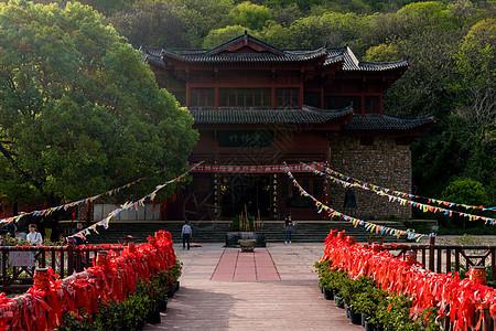 武汉云雾山竹林寺风景图片