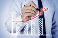 GDP增涨走势图图片