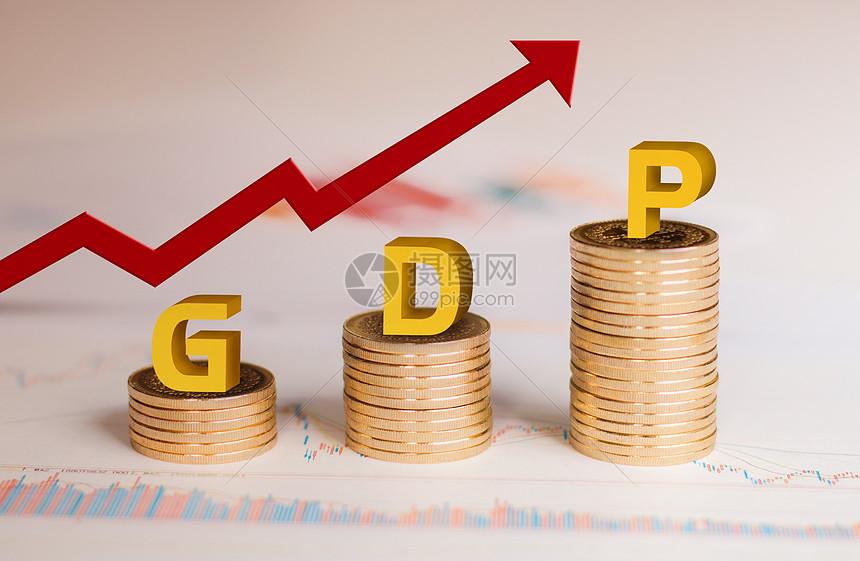 GDP增涨图片