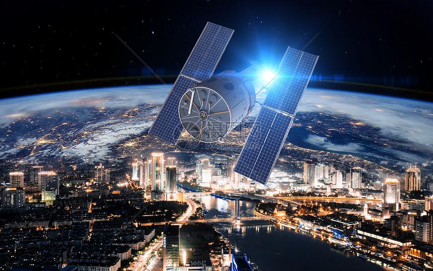 科技卫星图片