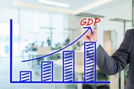 GDP增涨图图片