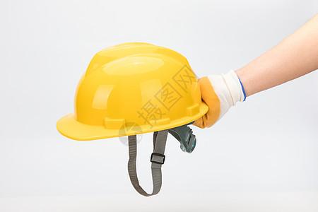手持安全帽图片