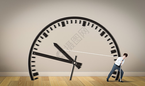 拖延时间图片