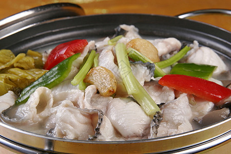 水煮泡椒鱼片图片
