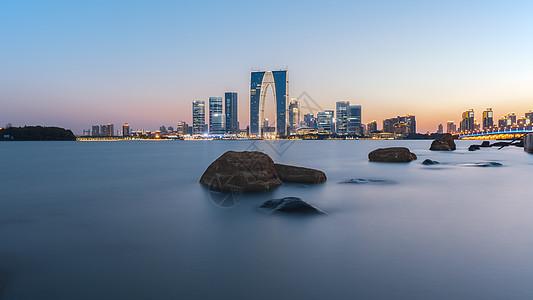 苏州金鸡湖图片