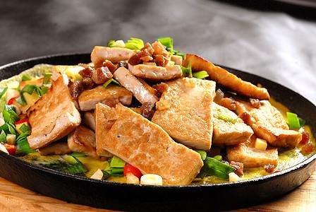 铁板千叶豆腐图片