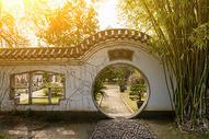武汉东湖绿道园林图片