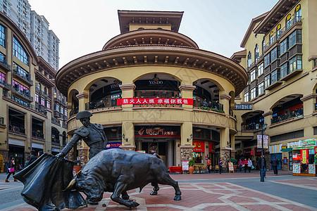 武汉光谷步行街欧洲风情街图片