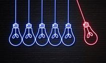 灯泡创意合成图片