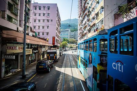 香港 有轨电车图片