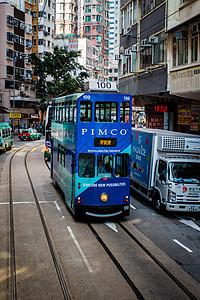 香港有轨电车图片
