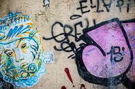 涂鸦墙图片