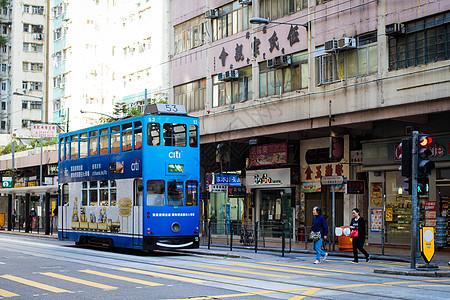 香港电车图片