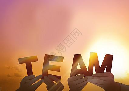 团队背景图片