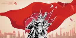 五一劳动节创意海报主题图片