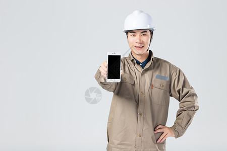 工人手机展示 图片