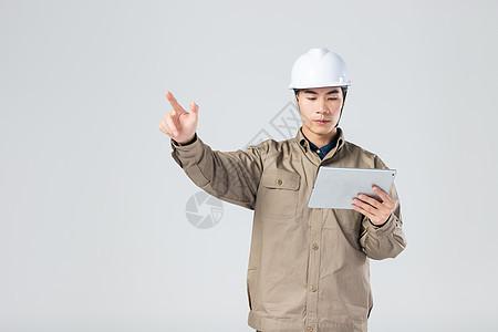 工人用电脑科技点击图片