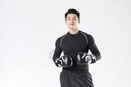 拳击运动的运动男性图片