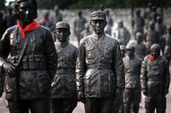 四川大邑安仁古镇建川博物馆内的抗战纪念馆图片