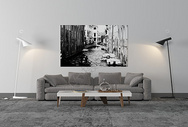 沙发落地灯组合图片