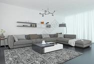 家居客厅现代简约图片