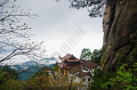 九华山春景图片