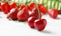 红色樱桃图片