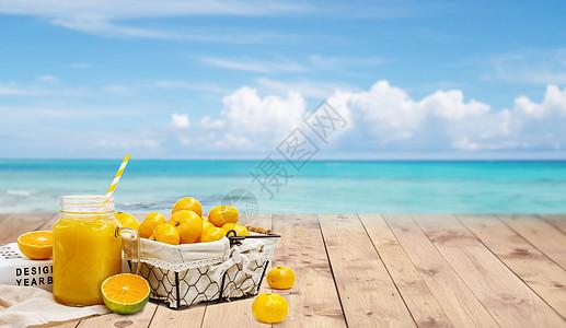 水果夏天背景图片
