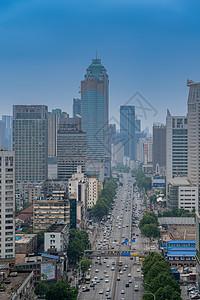 武汉解放大道风景图片