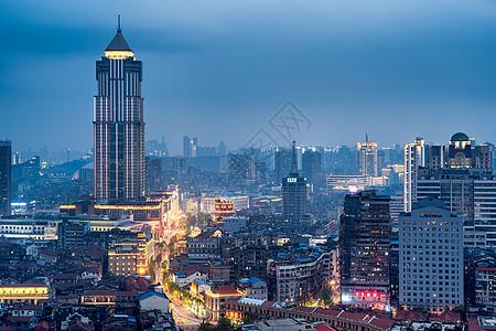 武汉汉口老城夜景图片
