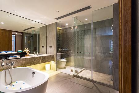 现代简约风的卫生间图片