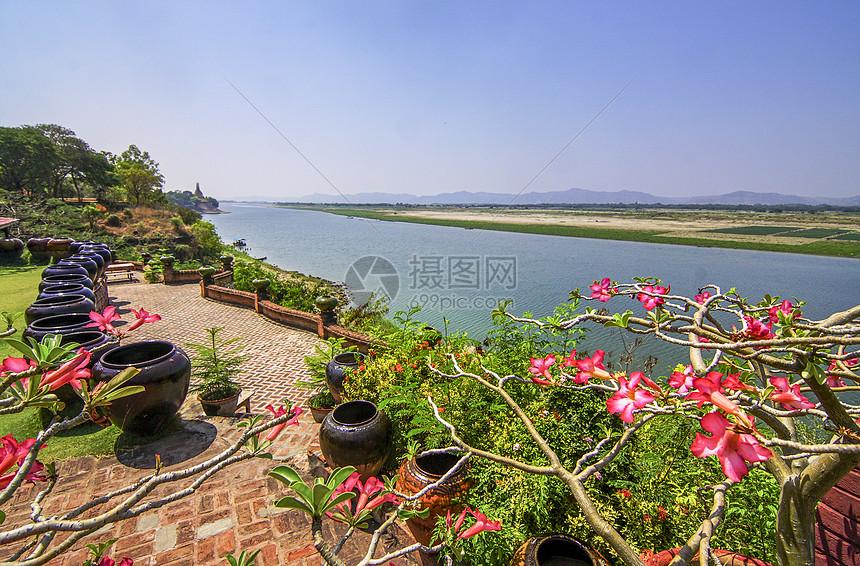 西双版纳澜沧江湄公河图片