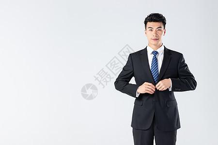 自信的商务男士图片