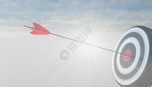 目标之箭图片