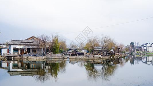 云南大理乡村自然风光图片