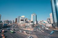 韩国首尔街景图片