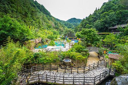 云南腾冲温泉公园图片
