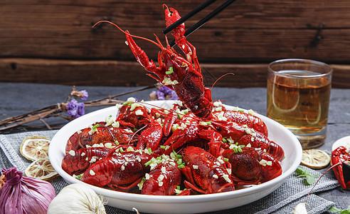 蒜香小龙虾图片