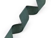 深绿色丝带素材图片