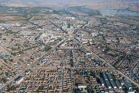 新疆特克斯八卦城图片