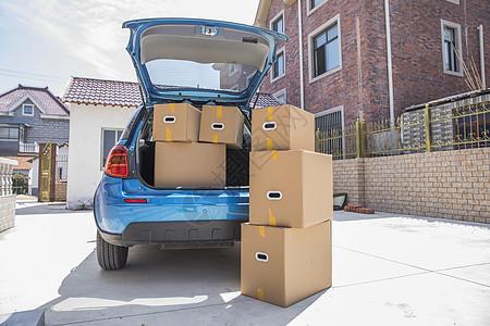 搬家时需要的打包盒图片